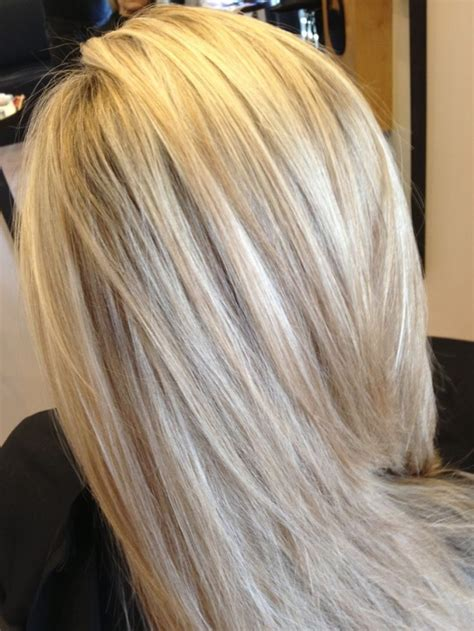 platinum blonde hair with black lowlights blonde with lowlights google search