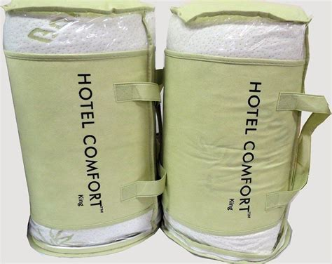 hotel comfort pillows two king pillows hotel comfort hypoallergenic bamboo