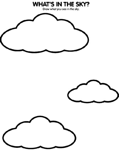 what s in the sky coloring page crayola com
