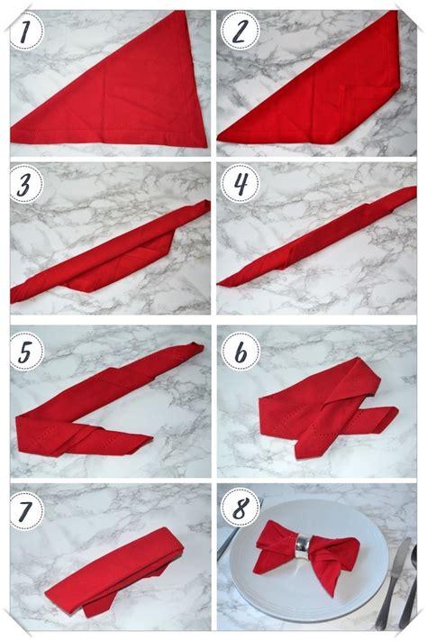 Modele De Pliage De Serviette Facile