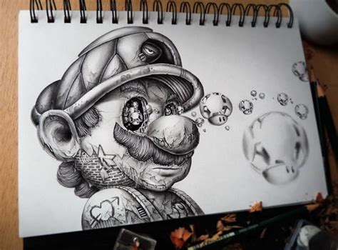 Graphic Drawer by Amazing Pencil Sketches By Graphic Designer Pez
