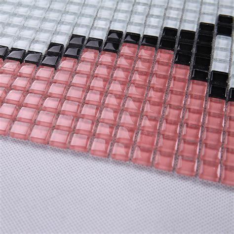 pattern mosaic glass tile backsplash wholesale vitreous mosaic tile pattern glazed crystal