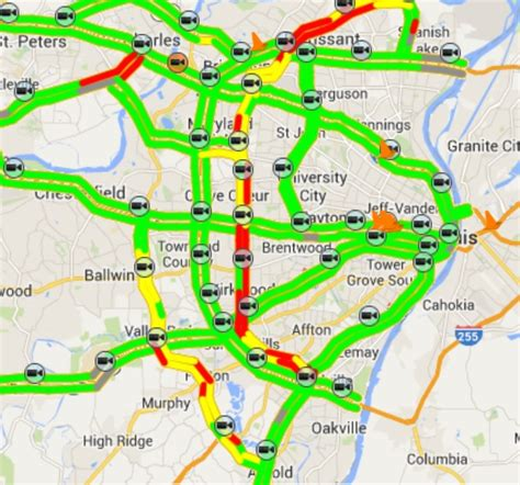 modot road conditions map modot makes st louis roadway alerts more user friendly st louis radio