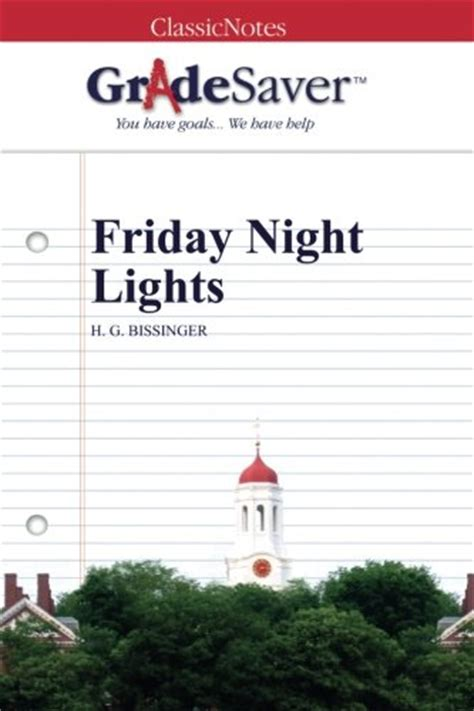 Friday Lights Sparknotes by Mini Store Gradesaver