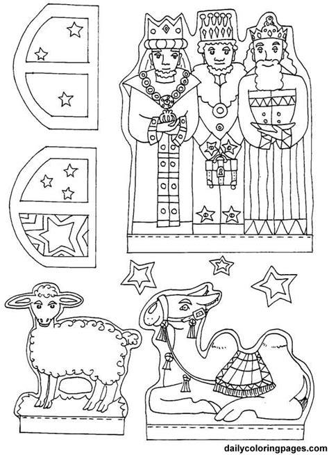 nativity coloring pages for preschool best photos of coloring nativity scene patterns baby