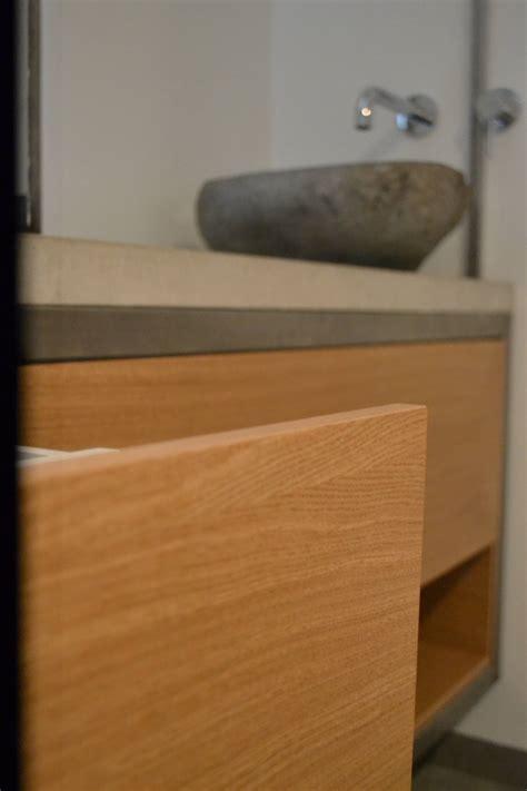 badkamermeubel hout en staal houtwerff interieurbouw 183 badkamermeubel van hout en staal