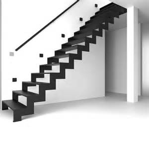 Modern Wall Mounted Handrails For Stairs Cool White Interior Column Also Black Z Style Modern