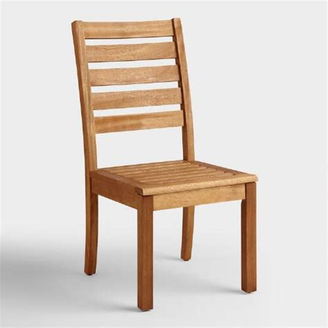 outdoor wood dining chair reanimators