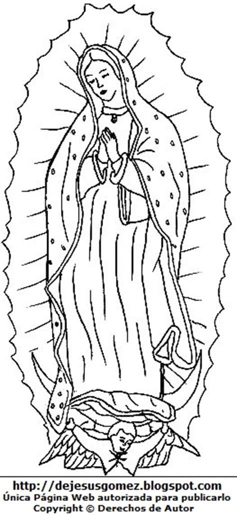 pinto dibujos virgencita de guadalupe para colorear imagenes para imprimir de la virgen de guadalupe pictures