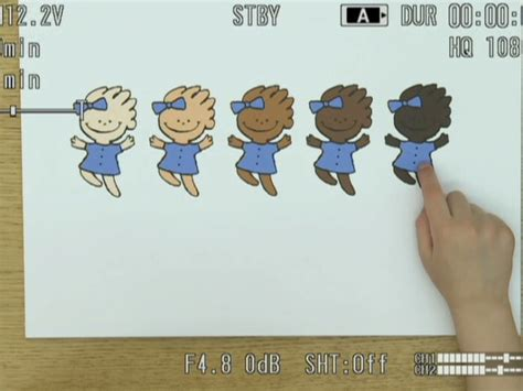 black doll experiment study white and black children biased toward lighter skin