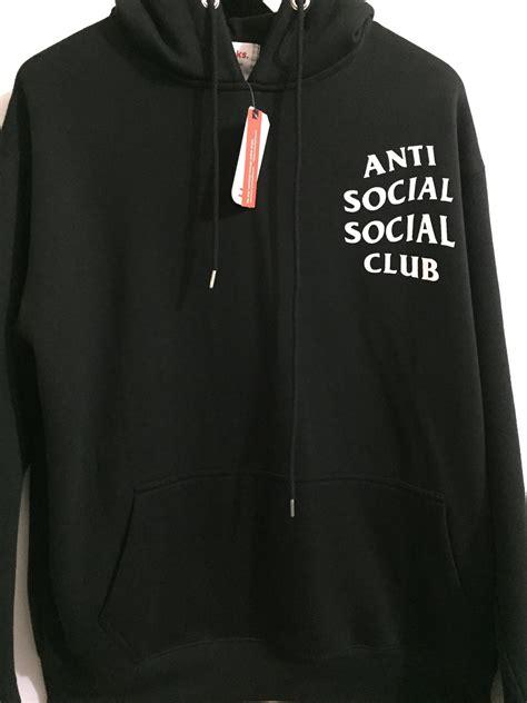 Hoodie Anti Social Social hoodie anti social social club