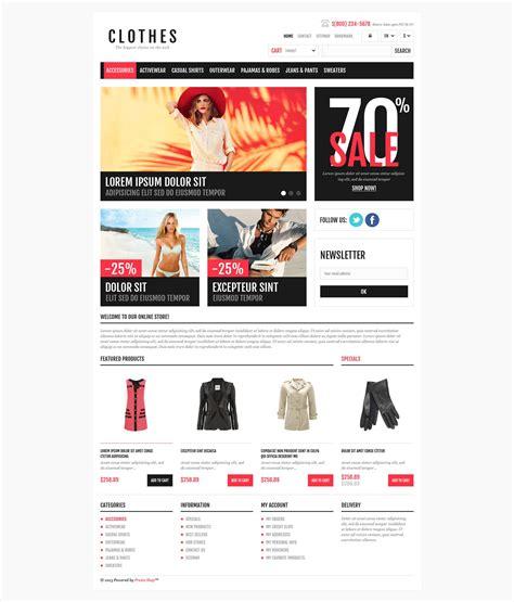 prestashop themes clothing responsive clothing shop prestashop theme 45092