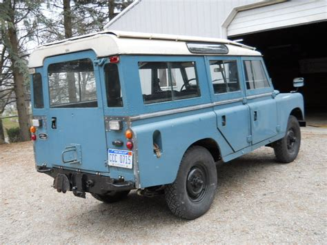 land rover series 3 4 1972 land rover series iii 109 station wagon