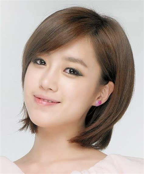 Korean Bob Hairstyles For Women Hairstyles   GlobezHair