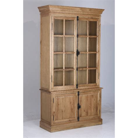 Industrial Loft Oak Bookcase With Doors Temple Webster Oak Bookcase With Doors