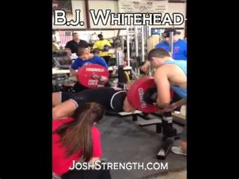 jill mills bench press bj whitehead 523 raw bench press uspa jill mills classic