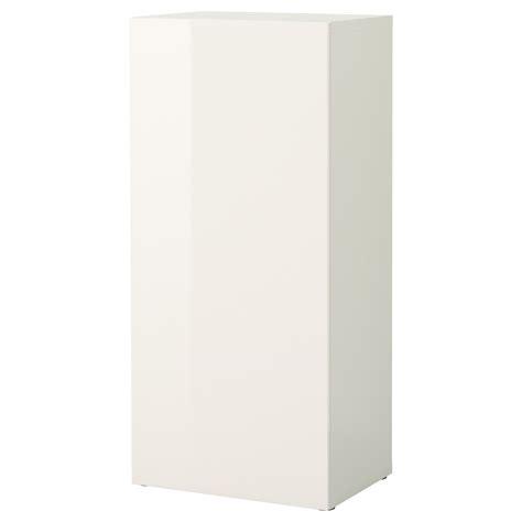 besta gloss white best 197 shelf unit with door white tofta high gloss white