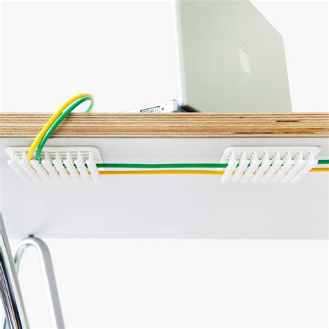 Desk Cord Organizer Everyone Needs The Pocketo Cable Organizer Ohgizmo