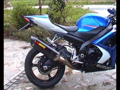 suzuki gsxr 1000 akrapovic full exhaust sound test suzuki gsx r 1000 k7 with akrapovic full titan evo 2