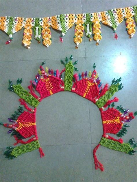 Handmade Toran - its handmade toran crochet design handmade