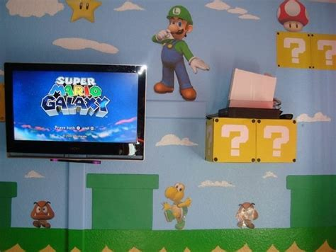 super mario bedroom ideas super mario brothers bedroom decor 5 small interior ideas