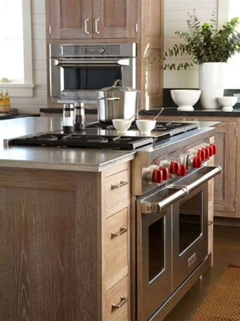 stove in kitchen island 31 smart kitchen islands with built in appliances digsdigs
