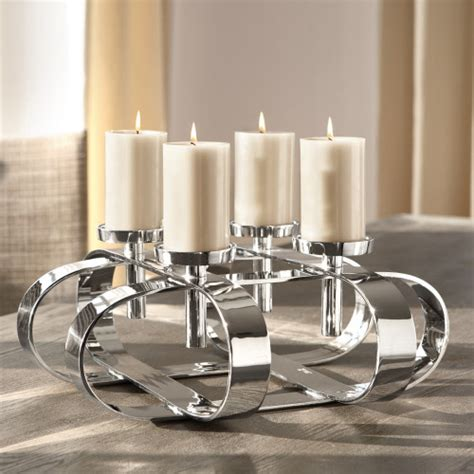 Kerzenleuchter Modern by Fink Kerzenleuchter Gorden Vernickelt I Fink Living