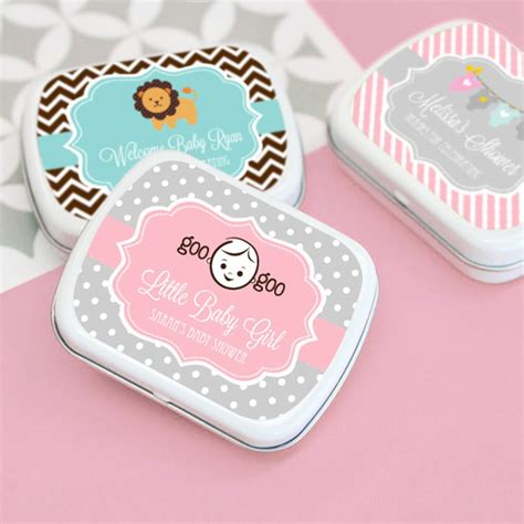 Baby Shower Mint Tins by Personalized Baby Shower Mint Tins