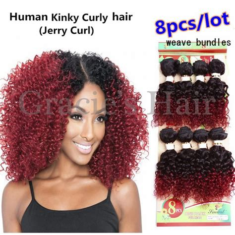 photo gallery of the best 8inch jerry curl weave hair styles photos afro curly human hair weave black hairstle picture