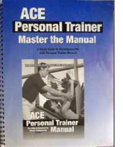 ace personal trainer study guide 2018 prep and practice questions for the american council on exercise cpt books free acsm resource manual programs trackerframe