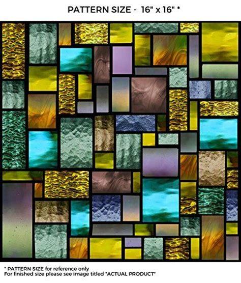 pattern energy amazon windowpix 18 x 12 solar geometric pattern window film
