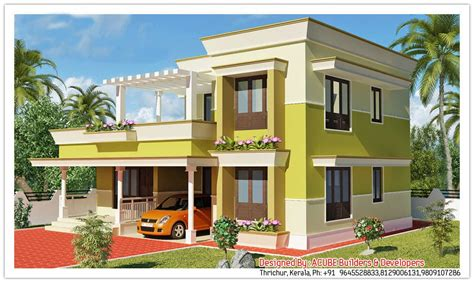 kerala home design 1500 kerala contemporary house design at 1800 sq ft
