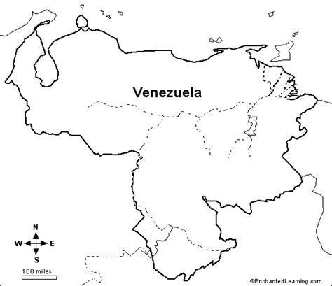venezuela map coloring page venezuela map coloring page