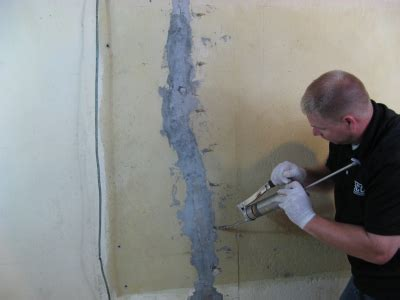 basement wall repair injection articles how to use injection packers for foundation repair 12 18 2012 applied