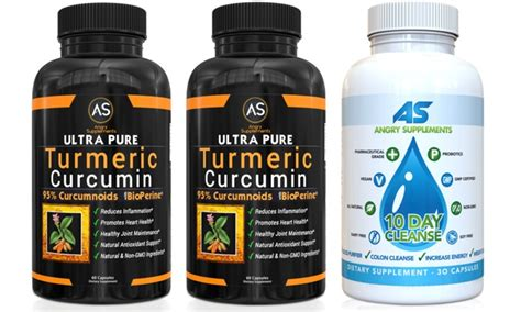 10 Day Detox Combo Pack by Up To 40 On Turmeric Curcumin And Detox Groupon Goods