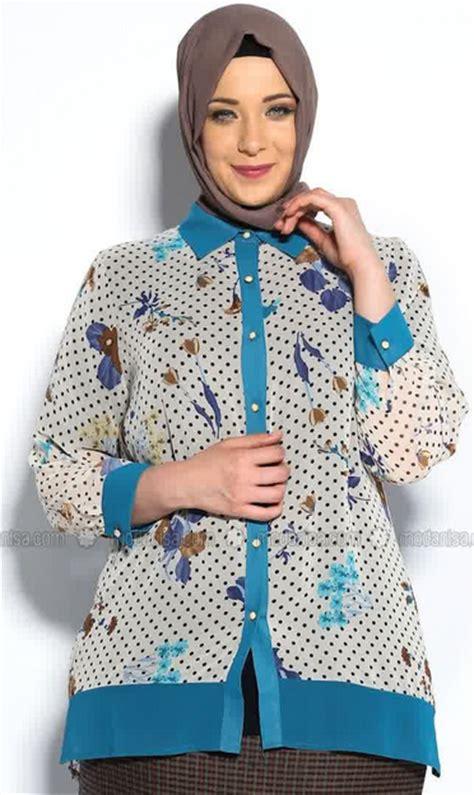 Baju Muslim Untuk Orang Gemuk Sekali 42 model baju kerja muslim untuk orang gemuk 2018 model