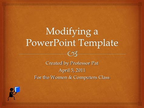 powerpoint modify default microsoft templates