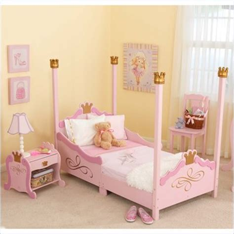 kidkraft princess toddler bedroom set toddler room