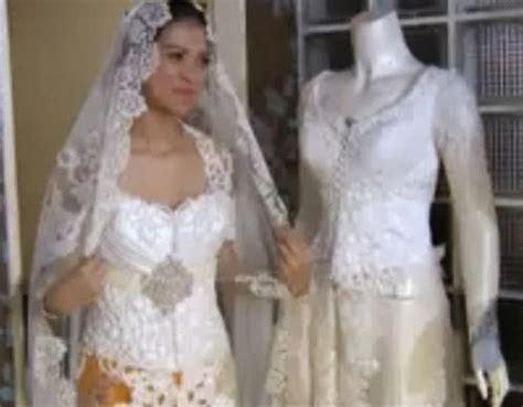 Baju Putih Nikah model contoh baju nikah wanita pernikahan