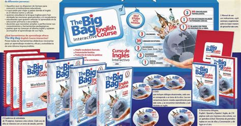 libro the huge bag of libros english course interactive aprendizaje autodidacta curso interactivo ingl 233 s the big bag