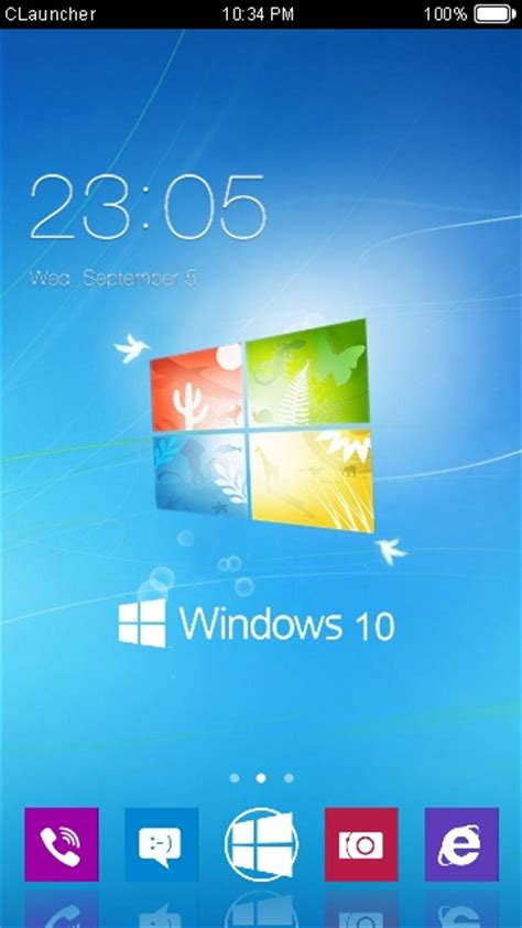 download theme android windows xp download windows 10 theme for your android phone clauncher