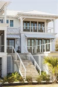 Coastal Homes Plans by Best 25 Beach House Deck Ideas On Pinterest