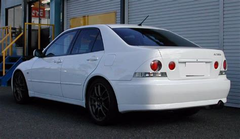 toyota altezza modified altezza black bn sports drift is300 japan jdm lexus