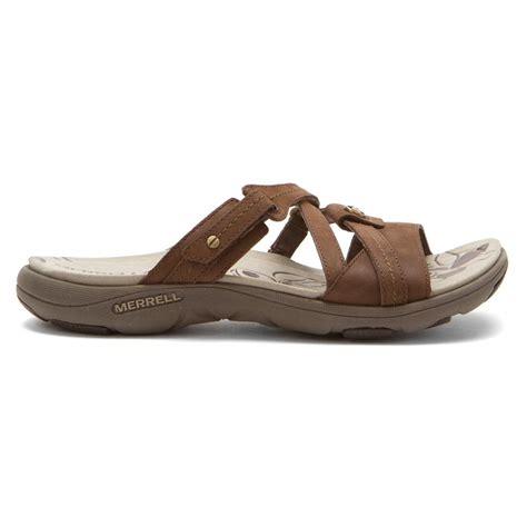 merrell sandals merrell women s sway leather sandals in bracken sneaker