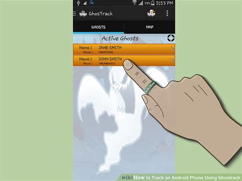 Phone Number Name Tracker How To Track An Android Phone Using Ghostrack 7 Steps