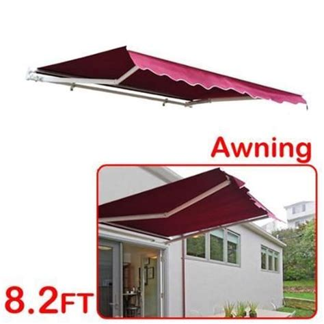 for living manual awning installation affordable variety 8 x 7 patio manual retractable sun
