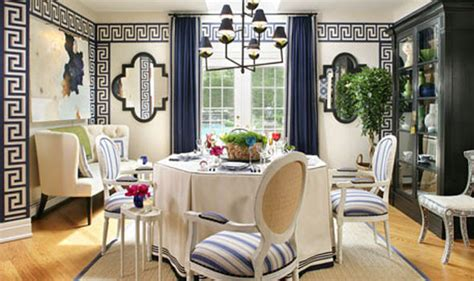 greek style home interior design eye for design decorating with greek key motif