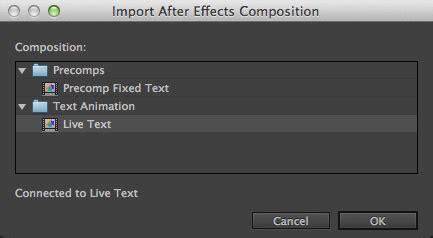 Premiere Pro Cc 2014 Live Text Templates Larry Jordan Text Message Premiere Pro Template