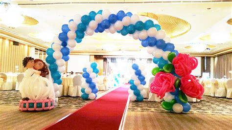 Wedding Arch Balloons by Stunning Balloon Arch For Wedding Ideas Styles Ideas
