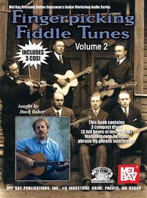 decidedly with by the bay volume 3 books fingerpicking fiddle tunes volume 2 book 3 cd set